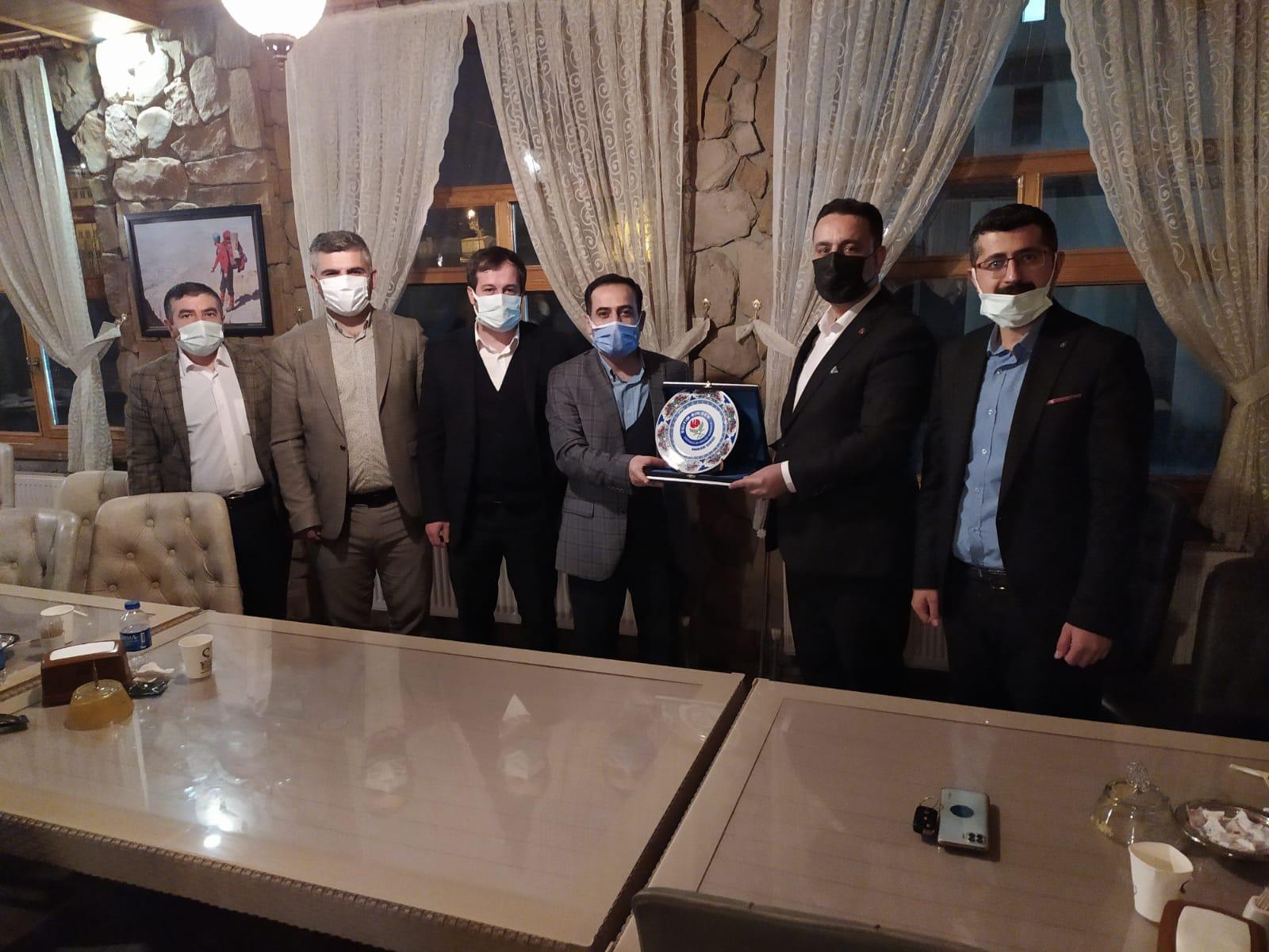Genel Başkan Yardımcısı Sayın Ramazan Çakıcı'nın  Ziyareti